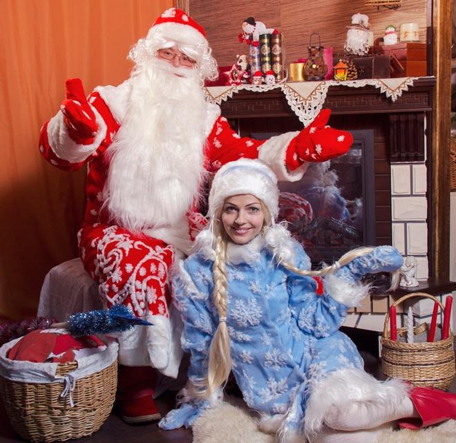 Дед Мороз, Снегурочка: заказать в Воронеже
