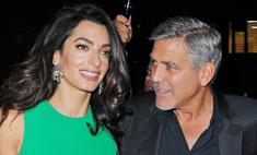 Джордж и Амаль Клуни признаны самой стильной парой