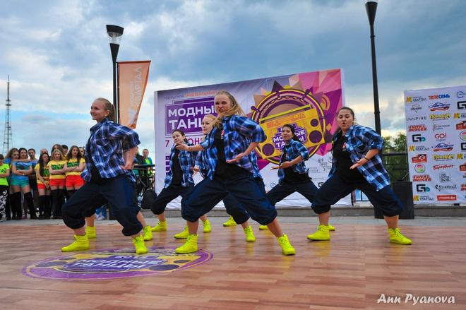 Иркутск. Модные танцы