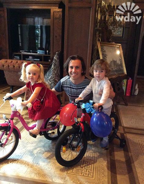 WDay папа: правила воспитания Максима Галкина