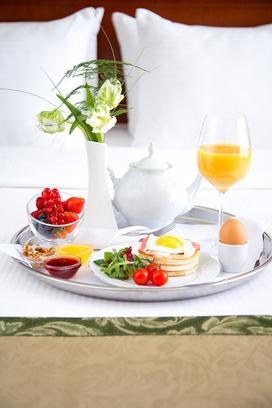 Адиюх Пэлас, ресторан, завтрак