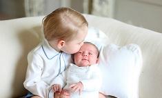 Принцесса Шарлотта с братиком: первые фото
