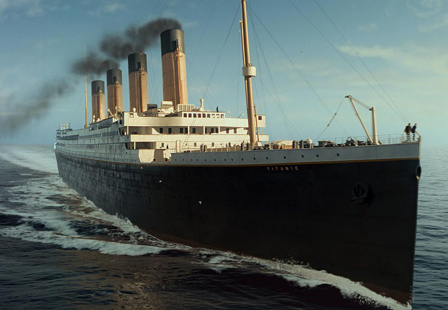 Как снимали фильм «Титаник», история «Титаника»