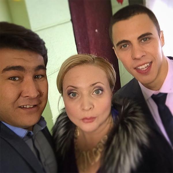 Азамат Мусагалиев, Александр Ляпин, Светлана Пермякова