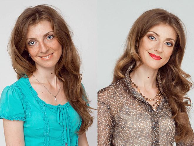 Как создать новый образ: фото до и после