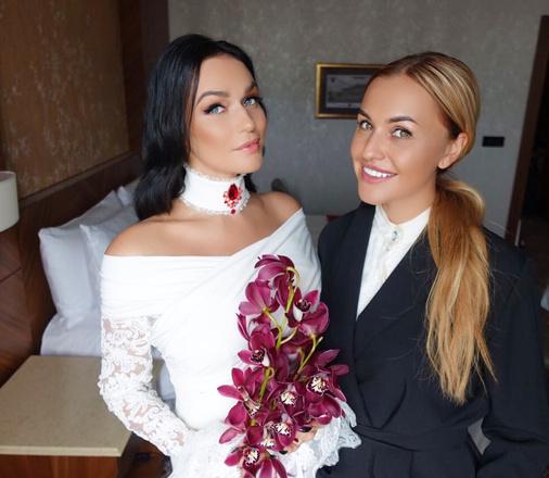 Фото алены водонаевой с свадьбой