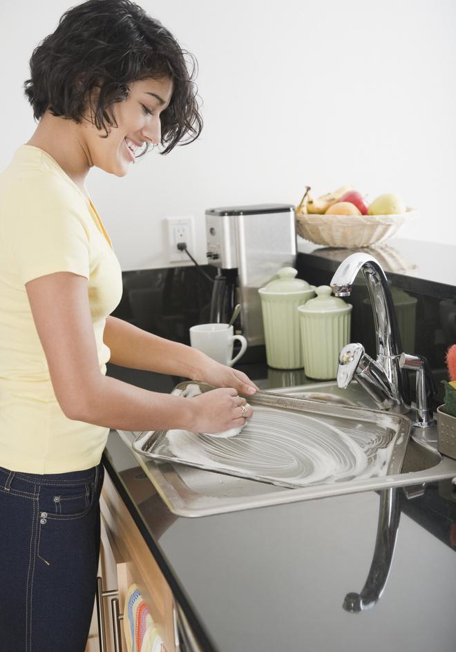 как очистить противень от нагара