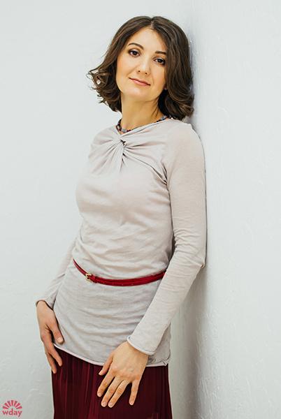 Лейла Мельникова, проект Woman's Day и «Совместные покупки на E1.RU», фото