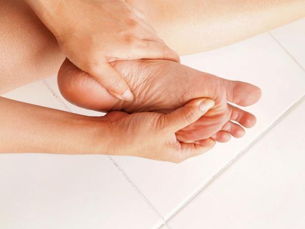 Техника массажа ступней