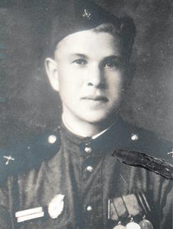 Вера Сотникова, отец Веры Сотниковой - фронтовик