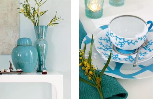 бирюзовый цвет, дизайн интерьера, интерьер гостиной, цвет стен, голубой цвет, модный интерьер, советы дизайнеров, ремонт гостиной, как выбрать цвет