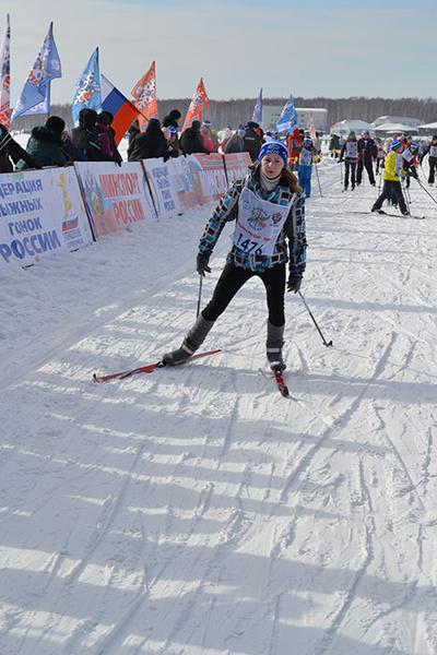 лыжня России в Иркутске