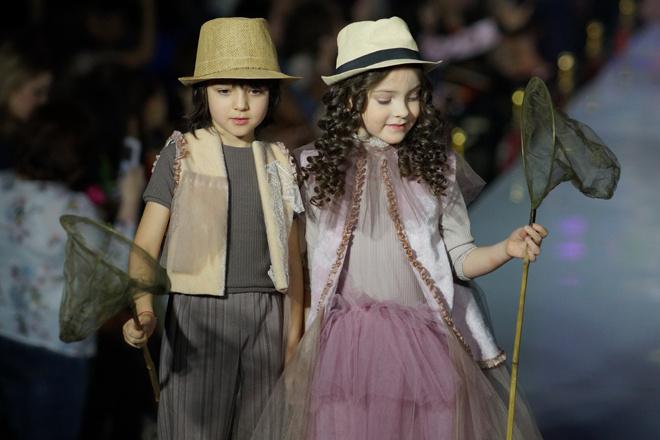 Дети Филиппа Киркорова на модном показе