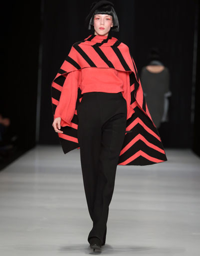Показ коллекции TEGIN осень-зима 2013/14 на Mercedes-Benz Fashion Week Russia