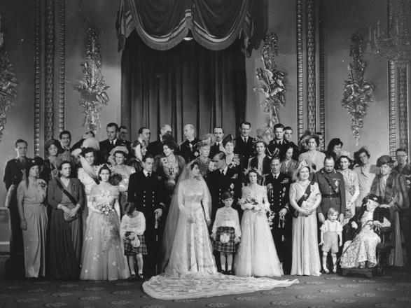 Елизавета II, принц Филипп