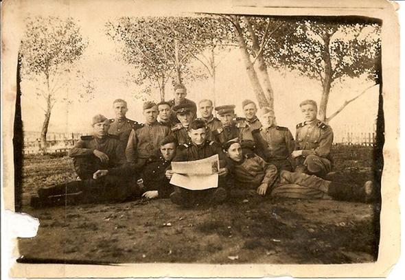 Бессмертный полк, фронтовой альбом, деды-герои