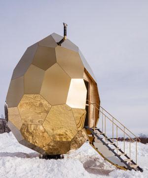 Золотое яйцо шведских художников