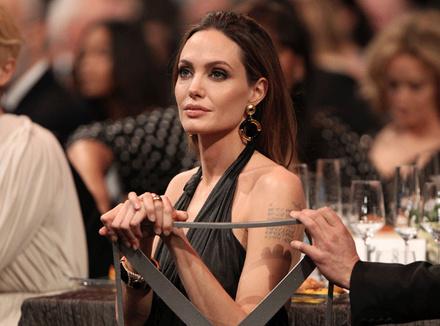 Анджелина Джоли, Лос-Анджелес, 2012