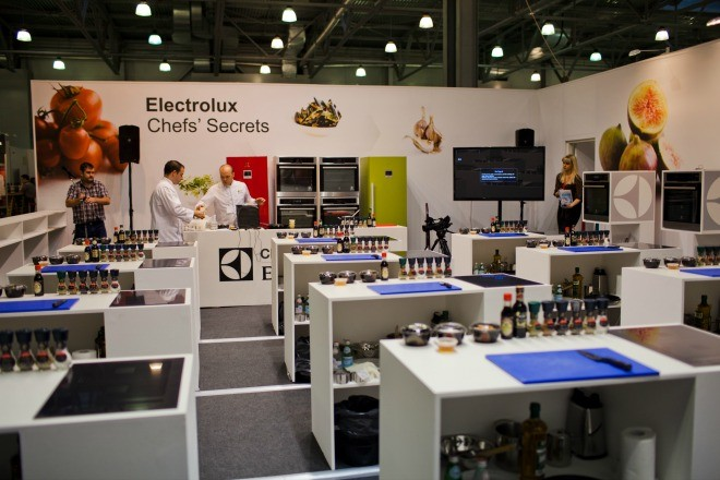 испытать свои силы в кулинарном искусстве можно на площадке Electrolux Chefs' Secrets