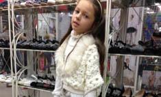 Волочкова покупает дочери обувь на каблуках