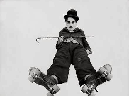 Чарли Чаплин (Charlie Chaplin). Скетинг-ринг (1916)