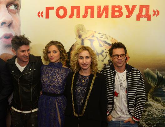звезды на премьере фильма «Скорый «Москва-Россия»
