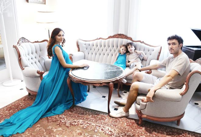 Инна Жиркова с семьей фото