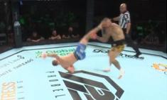 Ветерана UFC отправили в нокаут ударом «раскат грома» (видео)