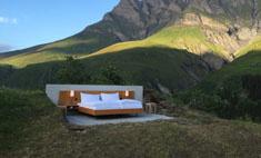В Швейцарии открылся отель под открытым небом