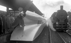 История одной фотографии: «Рельсовый Цеппелин», июнь 1931