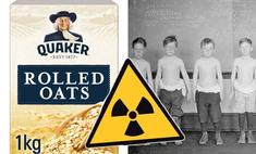 безумных ученых американская компания кормила детей радиоактивными хлопьями