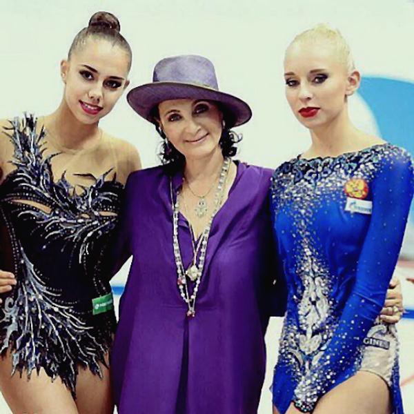 Яна Кудрявцева и Маргарита Мамун, художественная гимнастика: фото