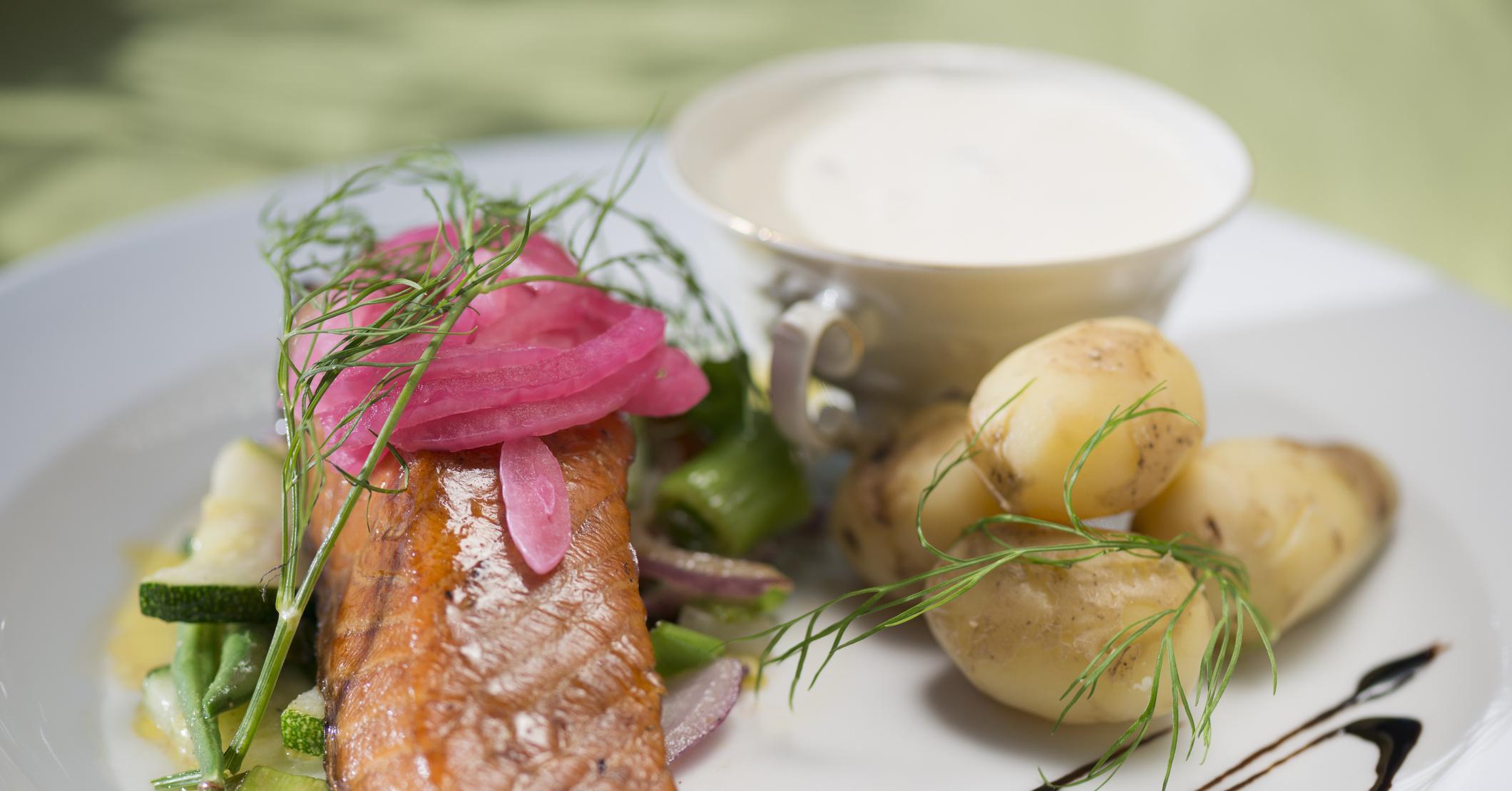 рецепт семги в духовке с картошкой в фольге рецепт