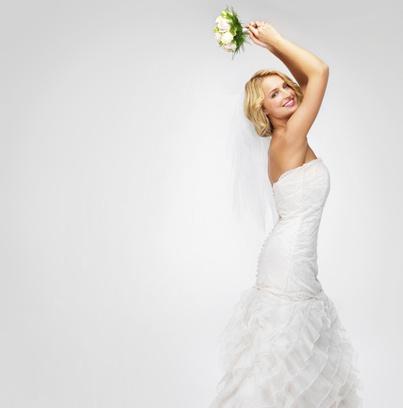 свадебное платье, рыбка