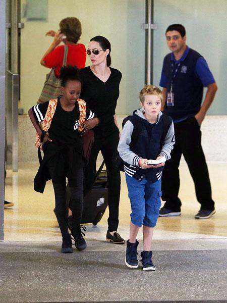 Дочь Джоли и Питта сделала мужскую стрижку