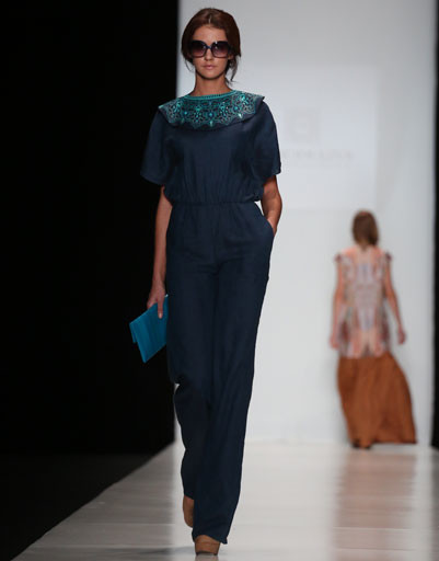 Mercedes-Benz Fashion Week: коллекция Borodulin's весна-лето 2013