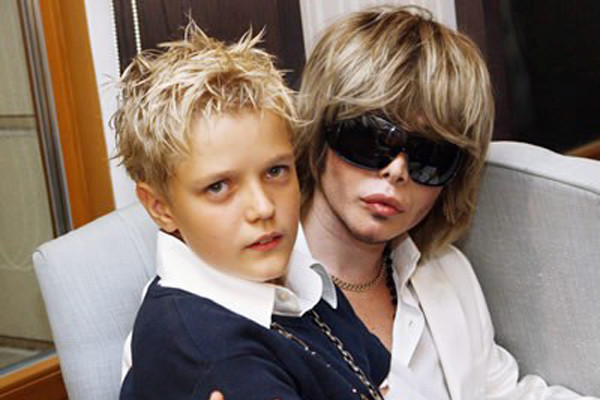 Сергей Зверев с сыном фото