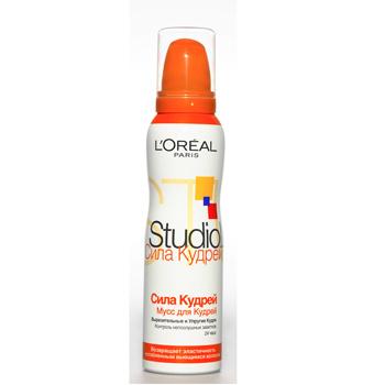 Мусс для волос «Сила Кудрей» Studio Line, L'Oréal175 руб.