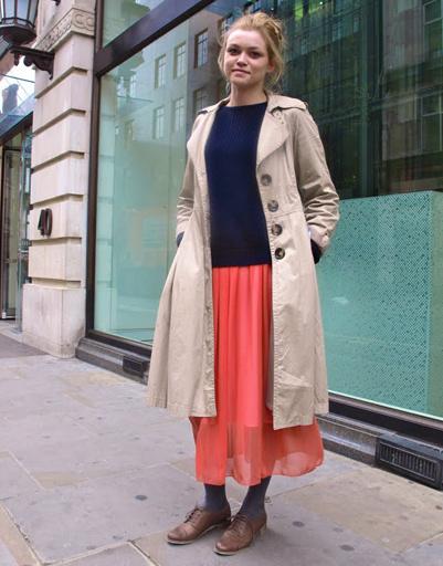 Весна-2011 и юбки-макси