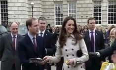 Принц Уильям и Кейт Миддлтон приняли участие в блинных торжествах