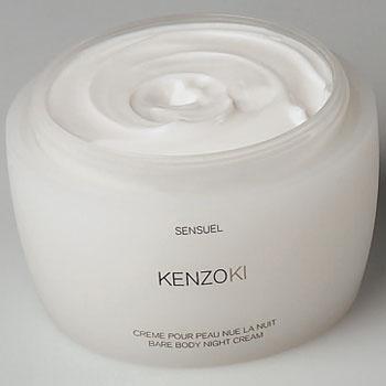 Ночной крем для обнаженной кожи, Kenzoki