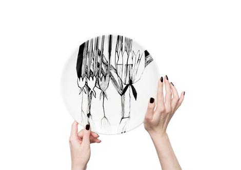 Керамические тарелки от молодого дизайнера Софии Соломко | галерея [1] фото [5]