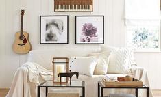 Накрыть диван покрывалом: красиво