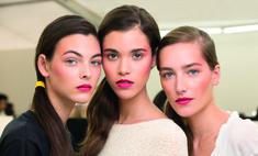 Стильный румянец: как повторить макияж с показа Chanel