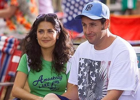 Сальма и Адам в обычной жизни дружат семьями, а в фильме сыграли супругов.