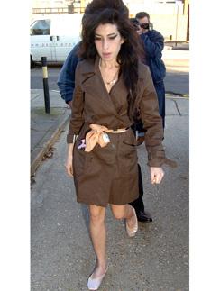 Эми Уайнхаус обожала пуанты и сделала их частью своего стиля