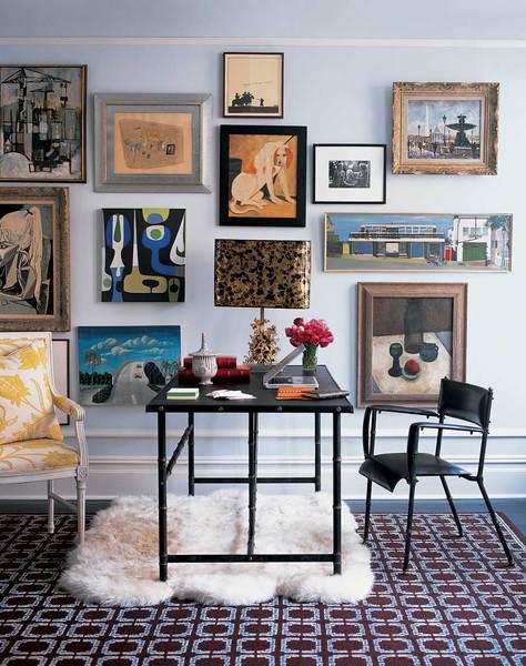 Предметы искусства и коллекции в интерьере фото