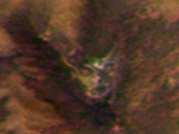 Лик Дьявола на поверхности Марса виртуальные исследователи считают рукотворным