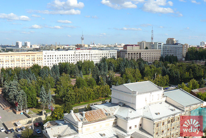 Экскурсия по Челябинску, вид с высоты