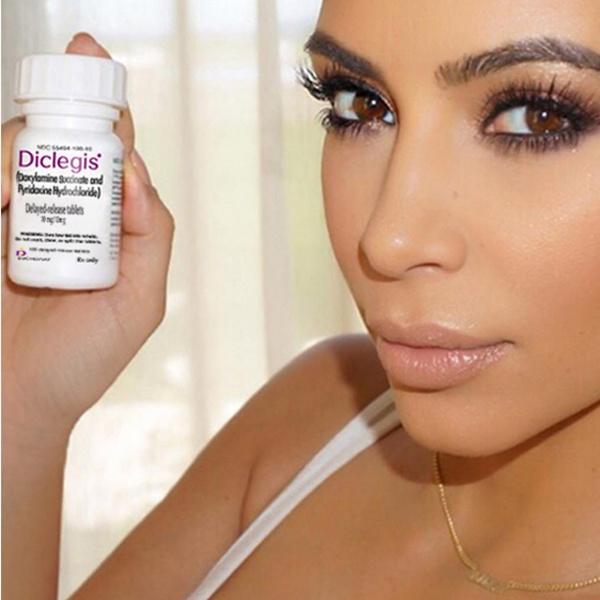 Ким Кардашьян рекламирует запрещенные таблетки